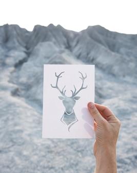 Deer frame natur freiheit ort