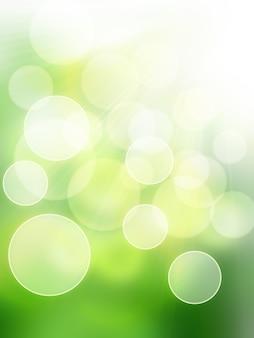 Defocus light spring - eleganter hintergrund für ihr kunstdesign