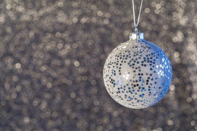 Defocused abstrakter weihnachtshintergrund