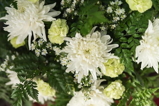 Dekoration von hochzeitsblumen