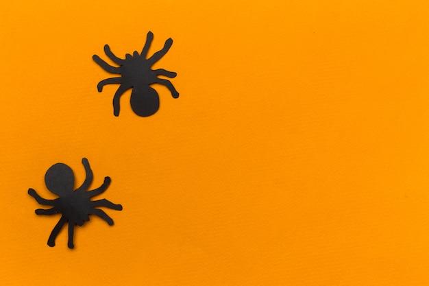 Dekorationen für halloween-party. hintergrund