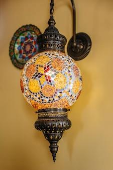 Dekorative arabische lampen