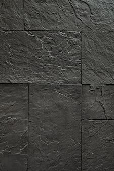 Dekorative beschichtung aus schwarzem stein