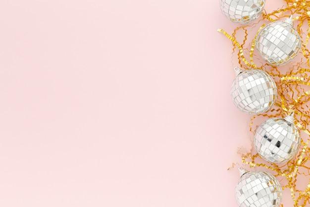 Dekorative globen für die party