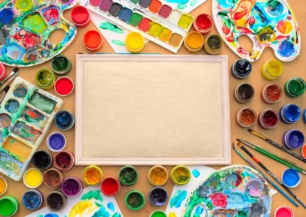 Dekorative komposition gestellmaterialien für kreativität und design.