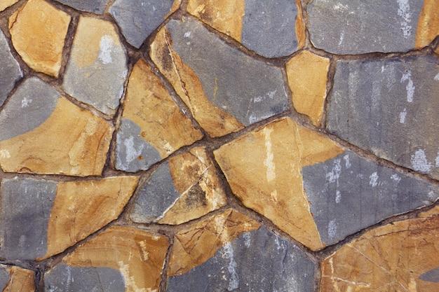 Dekorative textur mit farbigen steinen