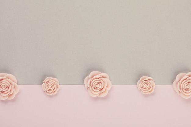Dekorativer minimaler pastellhintergrund