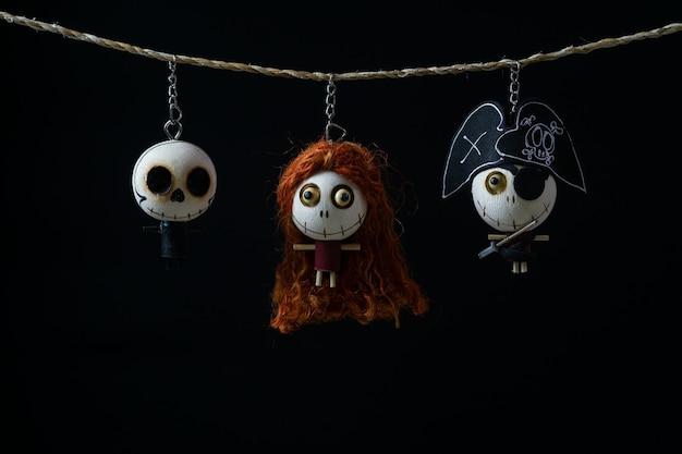 Dekoratives geisterspielzeug für halloween