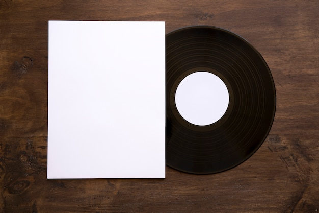 Dekoratives vinyl- und papiermodell