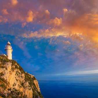 Denia javea san antonio cape mediterranean leuchtturm