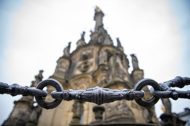 Denkmäler und straßen in olomouc, tschechische republik
