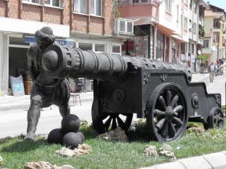 Denkmal der türkischen artillerie