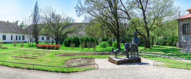 Denkmal für den gründer des askania nova reservats