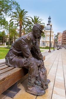 Denkmal spanien cartagena marinero de reemplazo