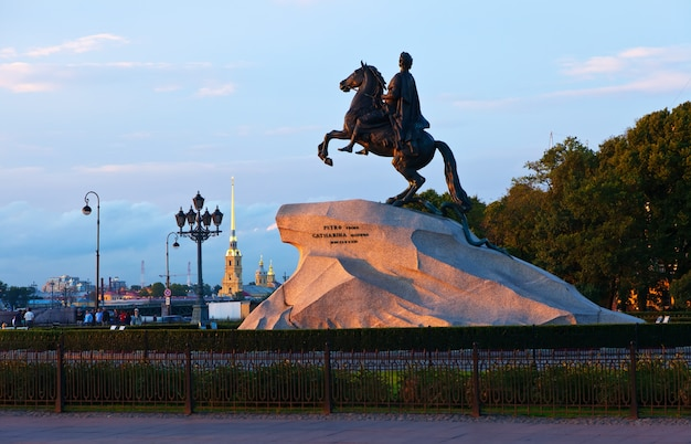 Denkmal von peter der erste