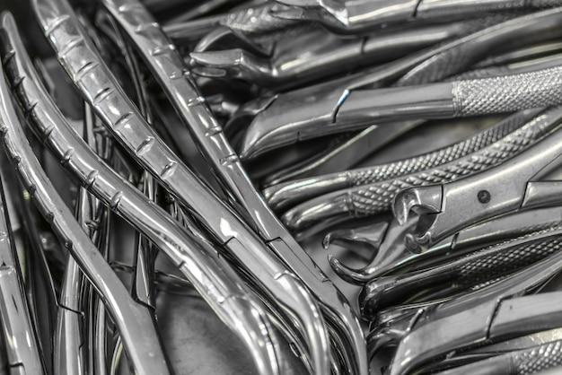 Dental-tools hintergrund