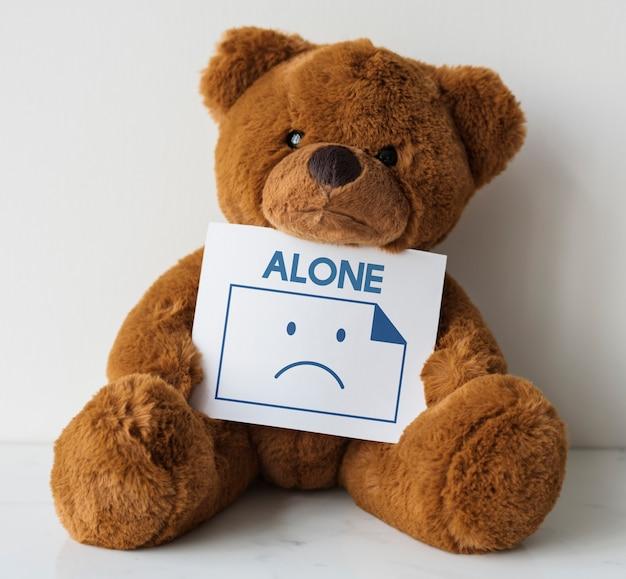 Depressiv allein traurigkeit negativität unglückliche emotion
