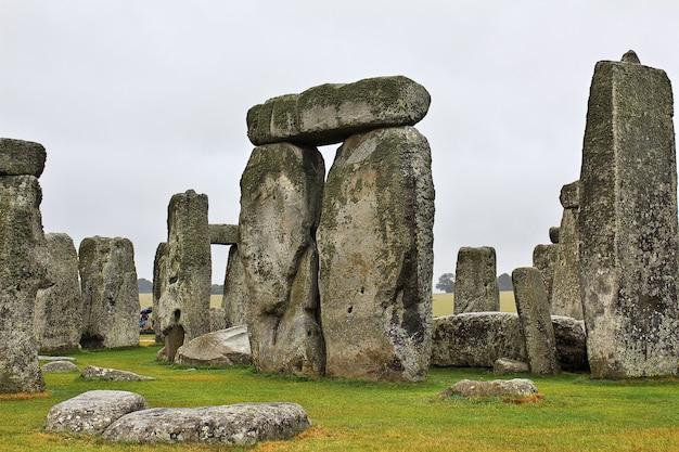 Der alte tempel von stonehenge, england, großbritannien