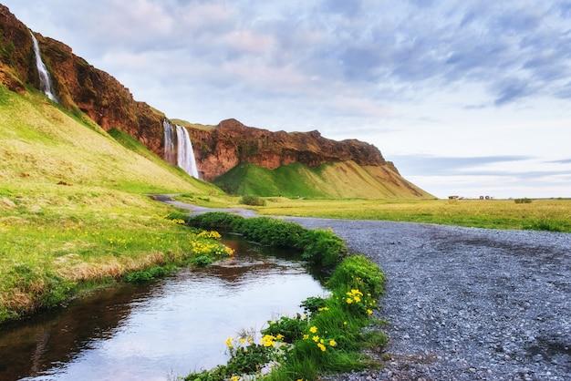 Der berühmteste isländische wasserfall