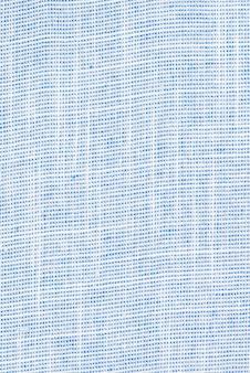 Der blaue hintergrund der textur des stoffes. leer. kein muster