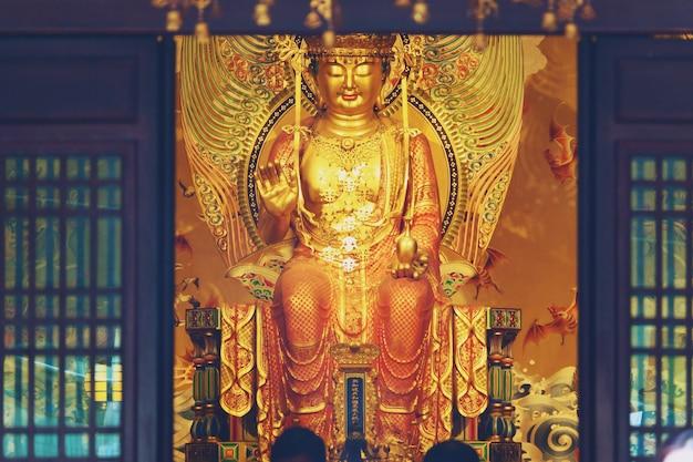 Der buddha tooth relic temple und das museum in chinatown