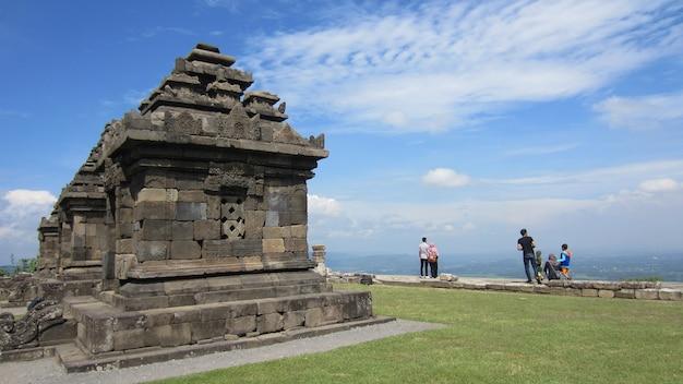 Der candi ijo oder ijo tempel ist ein hindu tempel in yogyakarta, indonesien.