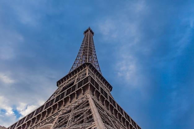 Der eiffelturm in paris, frankreich
