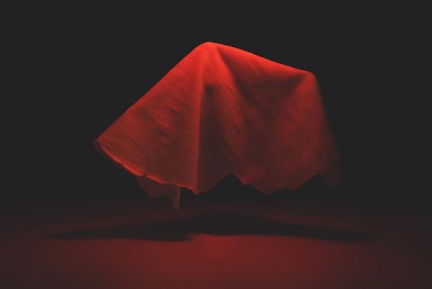 Der geist fliegt im blutigen licht. halloween-urlaub.