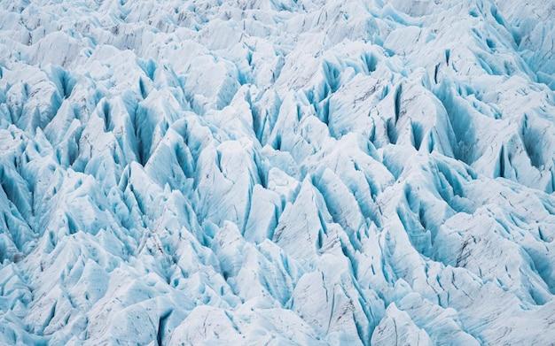 Der gletscher fjallsjökull in island
