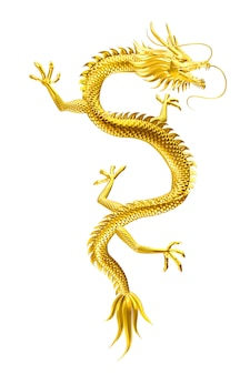 Der glückliche anführer des goldenen drachen kommt mit familie und freunden zu ihnen