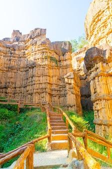 Der grand canyon chiang mai oder pha chor im mae wang nationalpark, chiang mai, thailand