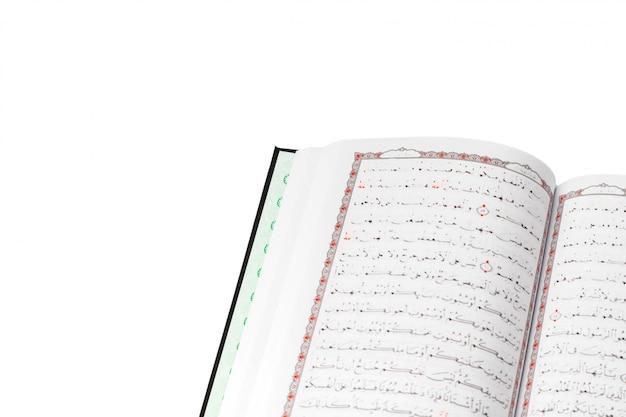 Der heilige koran weiß