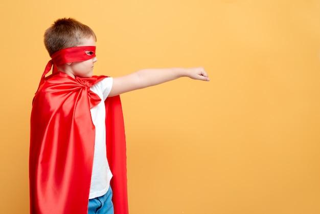 Der held und die sicherheit, schutz, mut