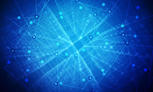 Der hintergrund der business-netzwerkverbindung