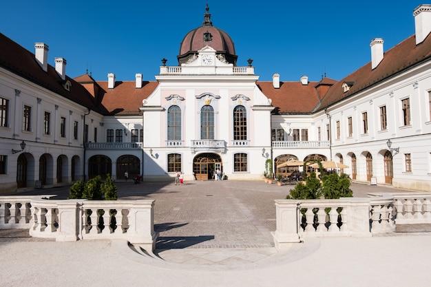 Der königliche palast in godollo, ungarn