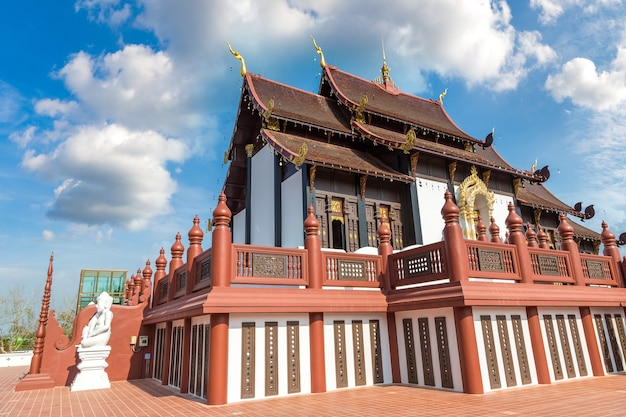 Der königliche ratchaphruek park in chiang mai