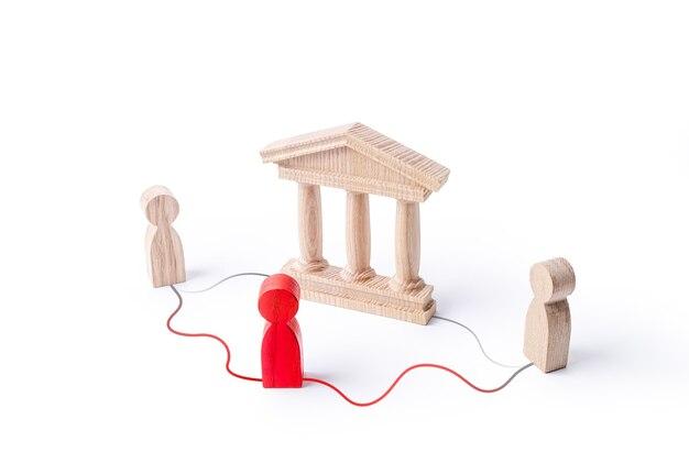 Der mediator bietet eine alternative möglichkeit für die kommunikation zwischen personen, die den staat umgehen.
