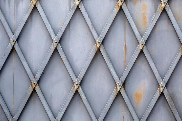 Der metallische texturhintergrund. nahaufnahme. vintage-textur