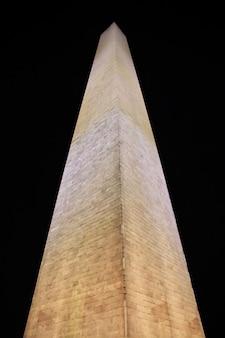 Der obelisk in washington, usa