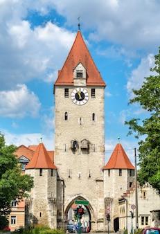 Der ostentor, ein tor der altstadt von regensburg