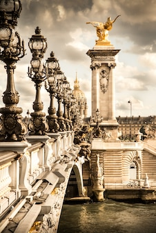 Der pont alexandre iii in paris