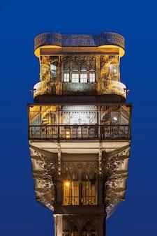 Der santa justa lift, auch carmo lift genannt, ist ein aufzug in lissabon