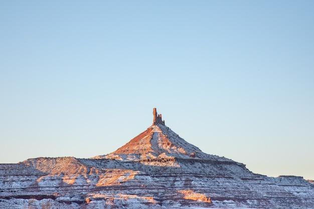 Der south six shooter peak, moab utah, nadeln
