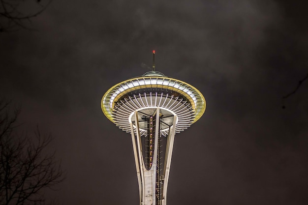 Der space needle tower in seattle
