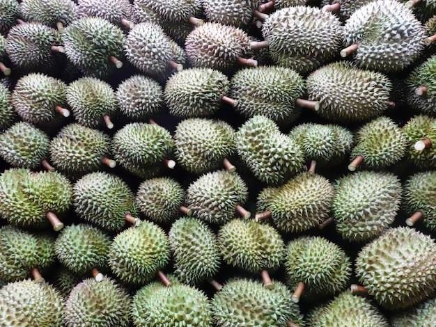 Der thailändische obstkönig durian exportiert nach china