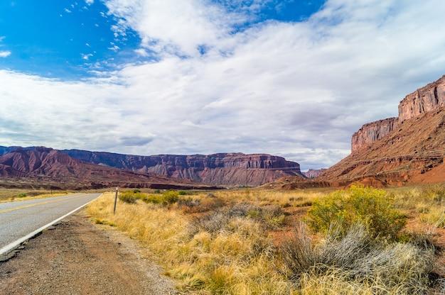 Der upper colorado river scenic byway (staatsstraße 128)