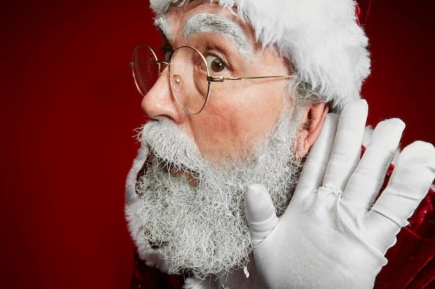 Der weihnachtsmann kann dich nicht hören