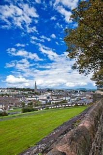 Derry stadtbild hdr skyline