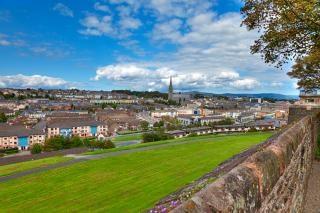 Derry stadtbild hdr wänden