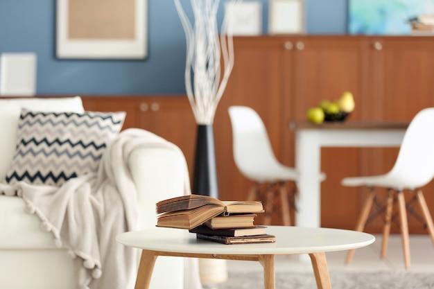 Design innenraum des wohnzimmers